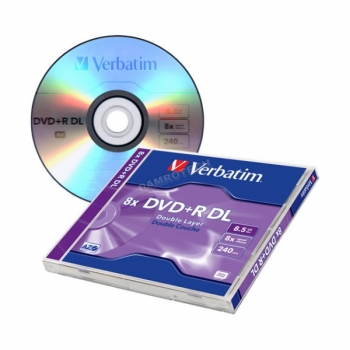 DVD+R DL toorik  8,5GB