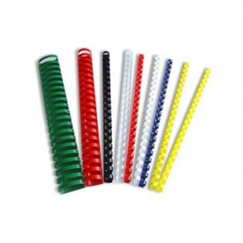 Plastspiraal 12,5mm. must