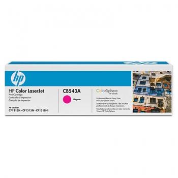 Tooner HP CB543A (CLJ CP1210/1215/1510/CM1312) MAGENTA 1400 lk