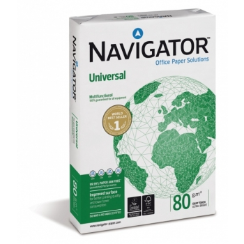 Koopiapaber A4/80g. Navigator Universal 500lk/pk.
