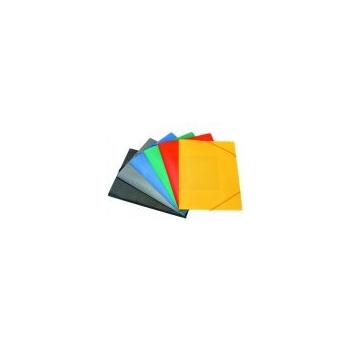Mapp, nurgakummiga, kartong, eri värvid