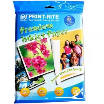 Fotopaber Print-Rite matt, veekindel  A4 105g 20l/pk