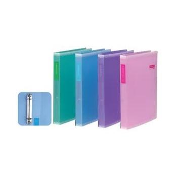 Rõngaskaaned Deli A4 30mm plastik  eri värvid