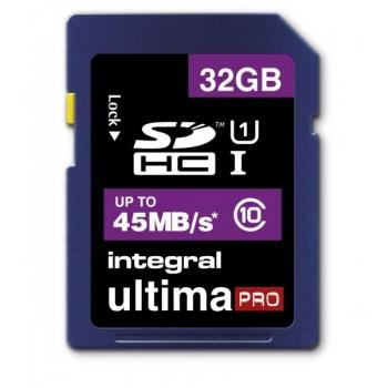 Mälukaart Integral Ultima PRO 32GB SDHC card (Class 10 45MB/s)