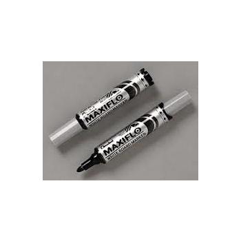Valge tahvli marker Pentel Maxiflo MWL5S, kooniline sinine