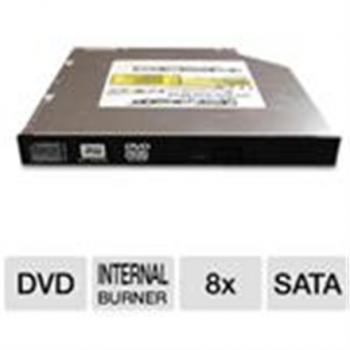 DVD kirjutaja Samsung SN208DB/BEBET 8x DVD+/-RW Dual Layer Slimline SATA Black