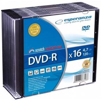 DVD-R toorik Esperanza 16x 4,7 gb-120 min
