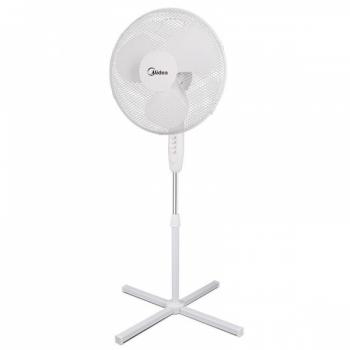 Ventilaator Teesa, põranda, 43cm, valge