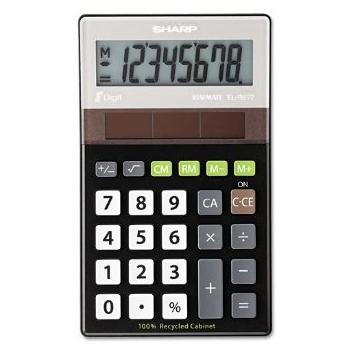 Kalkulaator Sharp ELR277BBK