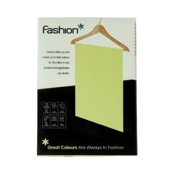 Värviline paber Fashion A4 250lk/160g Hele roheline
