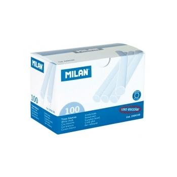 Kriit Milan 100tk/pk., valge