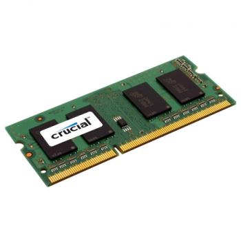 Mälu Crucial SODIMM, 4GB DDR3,PC3-12800