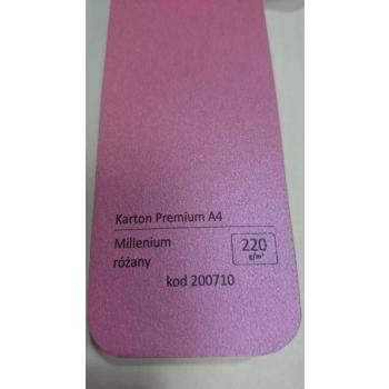 Dekoratiivpaber A4/220g, 20 lk/pk Millenium pink