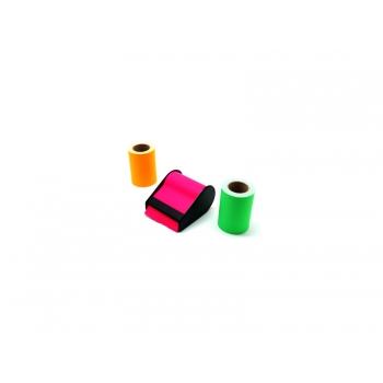 Märkmepaber rullis liimiga, hoidikuga, eri värvid