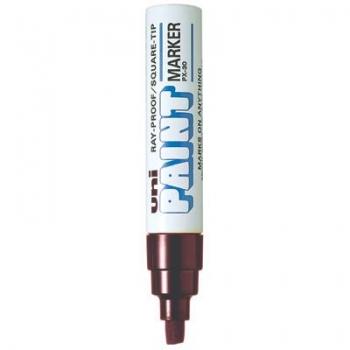 Marker Uni Paint PX30, permanent, valge, lõigatud 4,0-8,5mm
