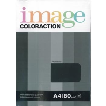 Värviline paber Image Coloraction 50l/pk. must