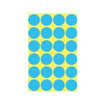Kleebis Markeerimispunkt 18mm, 96tk/pk, sinine