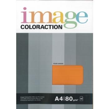 Värviline paber Image Coloraction 80g. 50l/pk. Light orange