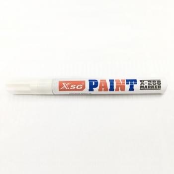 Marker Paint X266, valge, ümar