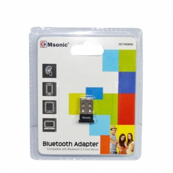 Msonic  MSONIC Bluetooth Adapter v2.0 + EDR USB MC7468NK