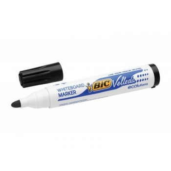 Valgetahvli marker BIC Velleda, 1-5 mm, must
