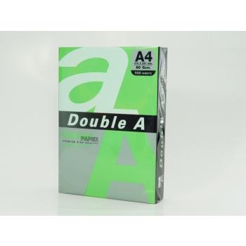 Värviline paber DoubleA A4/80g. Parrot (h. roheline)