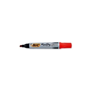 Marker BIC Marking 2300  lõigatud, Punane