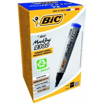 Marker BIC Marking 2300  lõigatud, Sinine