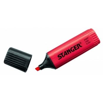 Tekstimarker Stanger, punane, 1-5 mm