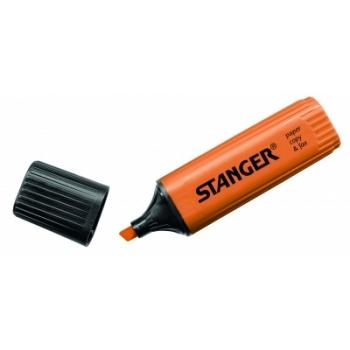 Tekstimarker Stanger, oranž, 1-5 mm