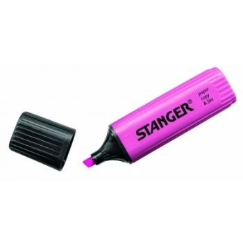 Tekstimarker Stanger, roosa, 1-5 mm