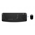 Klaviatuur + Hiir HP 300, USB EST