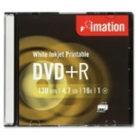 DVD+R toorik Imation 4,7 gb 120 min 16X