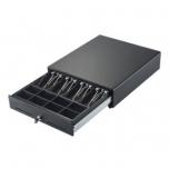 Kassasahtel C3540, 4 sahtlit metall klambriga, 8 mündisahtlit, võtmest avatav