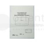 Blankett Väljasaadetavate dokumentide registreerimise raamat A4/48lehte