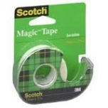 Kleeplint alusel 3M Scotch Magic 810 19mmx7,5m.