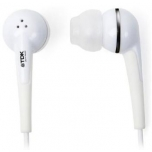 TDK EB300 IN-EAR HEADPHONES, ESSENTIALS, WHITE