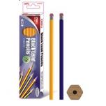 Harilik pliiats Deli 2B kummiga