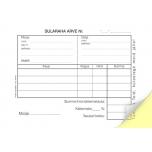 Blankett Sularaha arve-kassa sissetuleku order A6, isekopeeruv, 50 tk/pk