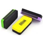 Tahvlipuhastaja Deli magnetiga, valgele tahvlile, eri värvid