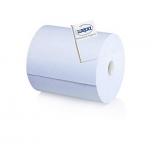 Rullrätik Wepa 2X sinine tööstuslik 350m. 36,5cm. 1000lehte/rullis