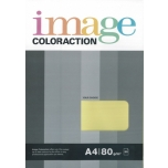 Värviline paber Image Coloraction 80g. 50l/pk. Sulphur yellow