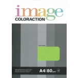 Värviline paber Image Coloraction 80g. 50l/pk. Lime