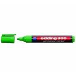Marker Permanentne Edding 300 A8 roheline, 1,5-3mm
