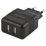 Adapter  ESPERANZA Universal Charger Adapter - 2 x USB | AC 220-240V | 5V | 2100mA