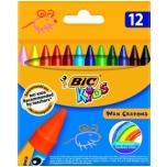 Rasvakriidid BIC 12 värvi