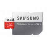 Mälukaart 64GB, Samsung ,MicroSD,class10, read100MB/s, write 60MB/s