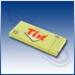 Märkmepaber Tix 38x51mm.(Tartan)