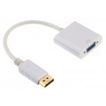 DisplayPort to VGA adapter 15cm.