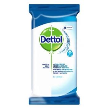 Desinfitseerivad puhastuslapid Dettol 36tk/pk
